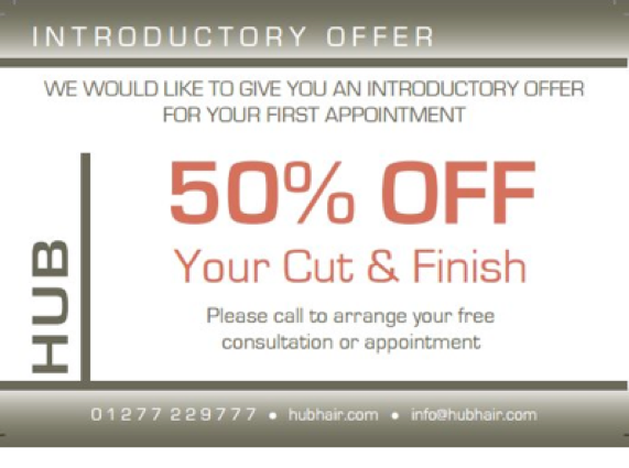 Get 50% off for your first appointment